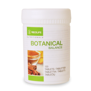 """""""Botanical Balance"""" maisto papildas, """"NeoLife"""", 120 tab. - Nijolė Koskienė sveikatoszurnaliste.lt"""